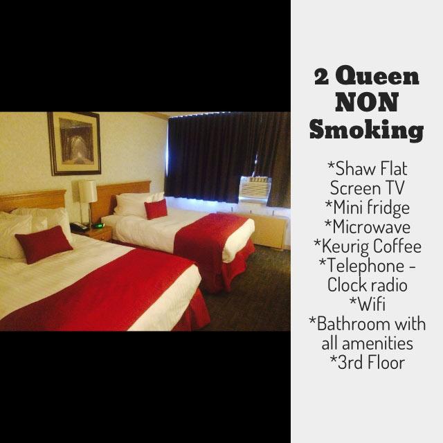 non-smoking 2 Queen Bed Rooms