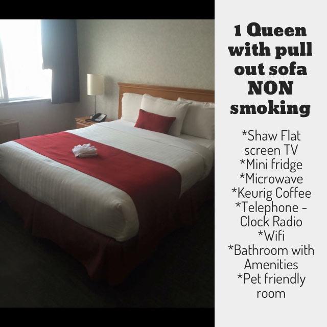 non-smoking 1 Queen Bed Rooms